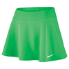 Women`s Court 11.75 Inch Tennis Skirt 300_ELECTRO_GREEN
