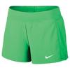 Women`s Court Flex Pure Tennis Short 300_ELECTRO_GREEN