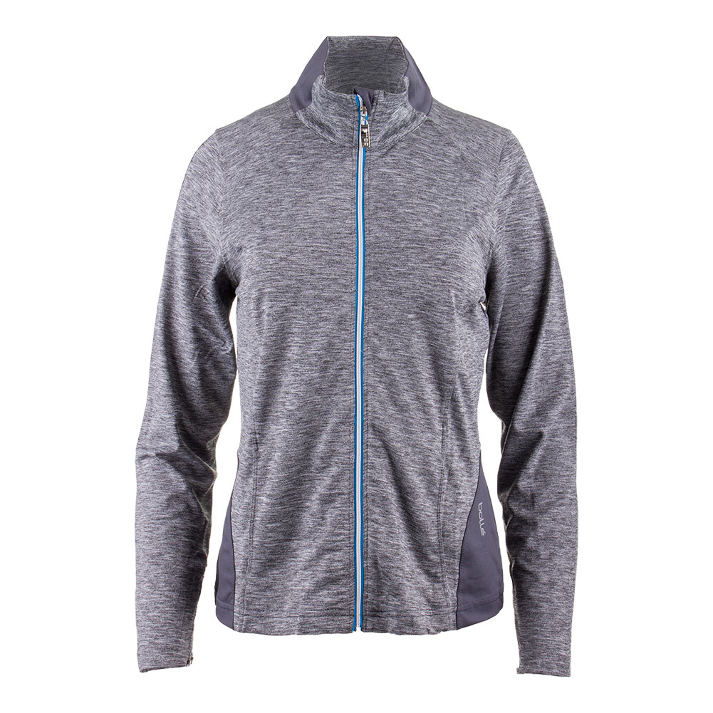 Women's Angelina Tennis Jacket Dark Heather