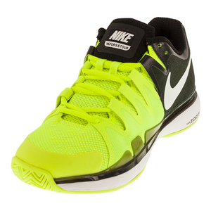 Women`s Zoom Vapor 9.5 Tour Tennis Shoes Volt and Black