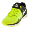 NIKE Women`s Zoom Vapor 9.5 Tour Tennis Shoes Volt and Black