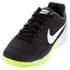 NIKE Men`s Zoom Cage 2 Tennis Shoes Black and White