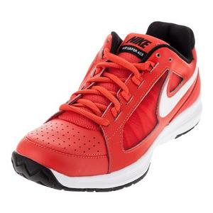 Men`s Air Vapor Ace Tennis Shoes Max Orange and White