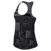 Women`s Court Graphic Tennis Tank 091_CARBON_HTHR/BLK