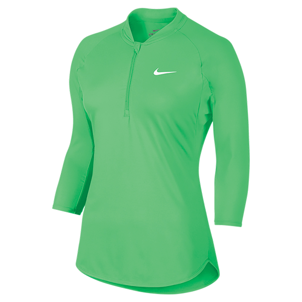 nike women 39 s court dry pure tennis top. Black Bedroom Furniture Sets. Home Design Ideas