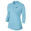 Women`s Court Long Sleeve Dry Tennis Top 499_STILL_BLUE