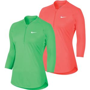 Women`s Court Long Sleeve Dry Tennis Top