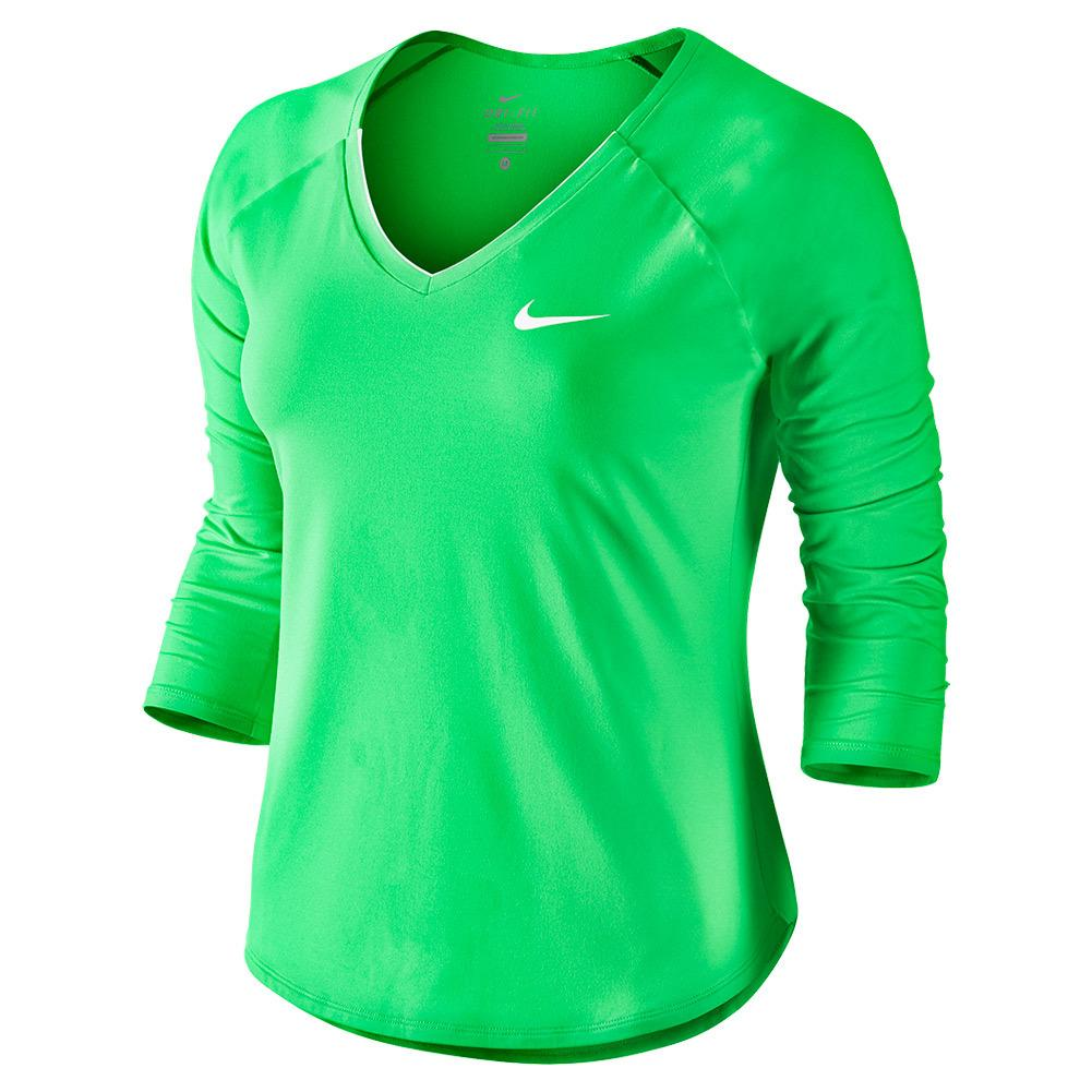 Women's Pure 3/4 Sleeve Tennis Top