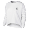 Women`s Baseline Long Sleeve Tennis Top 100_WHITE
