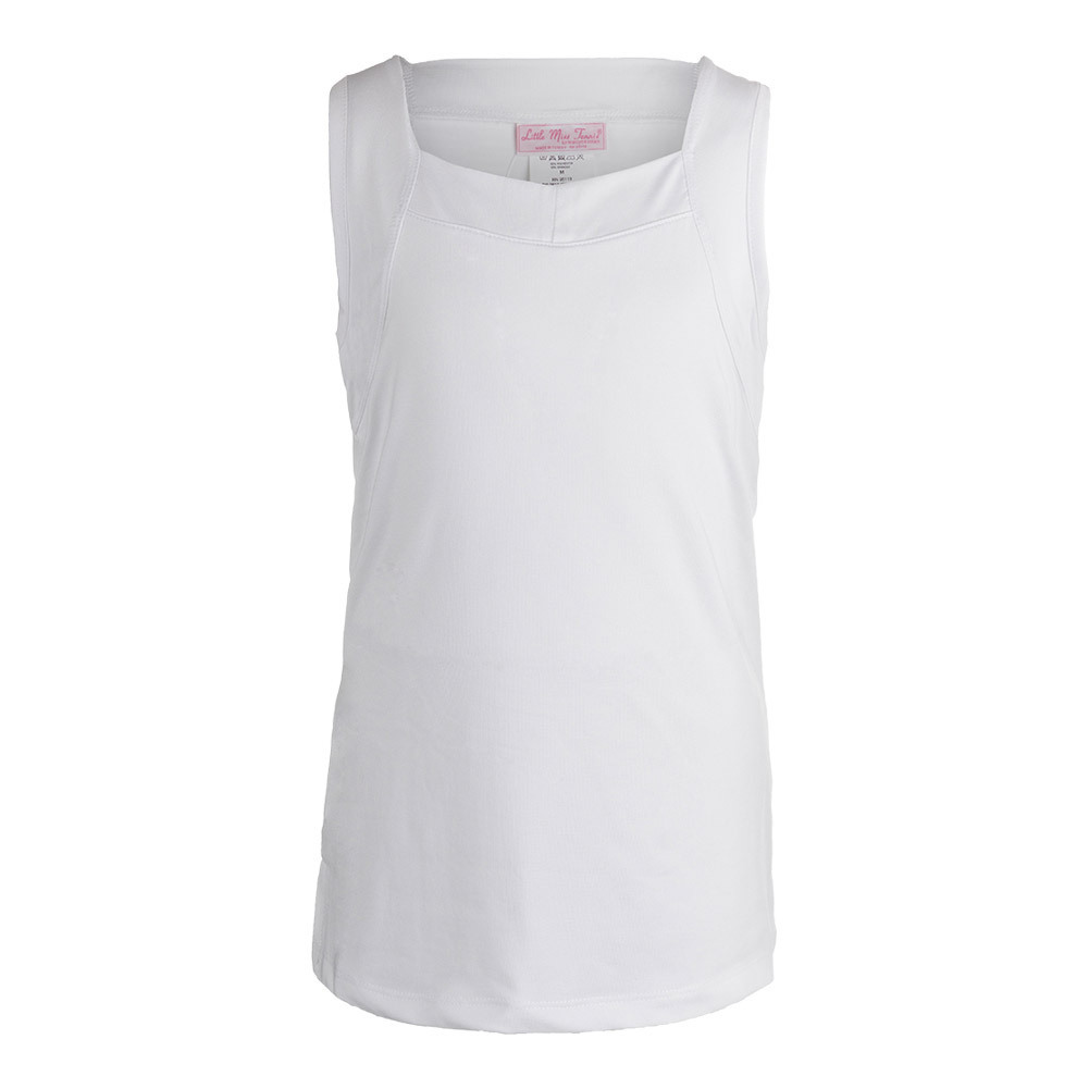 Girls ` Tennis Tank White