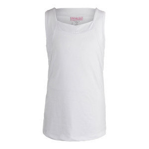 Girls` Tennis Tank White