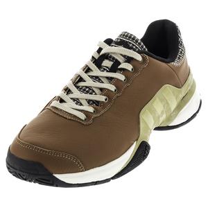 Men`s Barricade 2016 Mustachio Tennis Shoes Craft Ochre and Gold Metallic