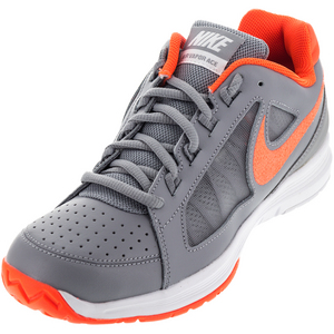 Men`s Air Vapor Ace Tennis Shoes Stealth and Total Crimson