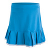 LITTLE MISS TENNIS Girls` Pleated Tennis Skort Blue