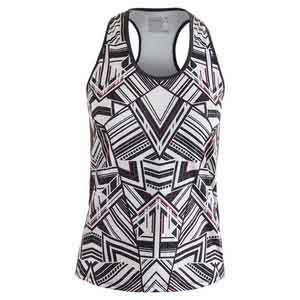 Women`s In the Fast Lane Racerback Tennis Tank Print