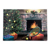 Tennis Christmas Cards 10 Pack N69_FIREPLACE