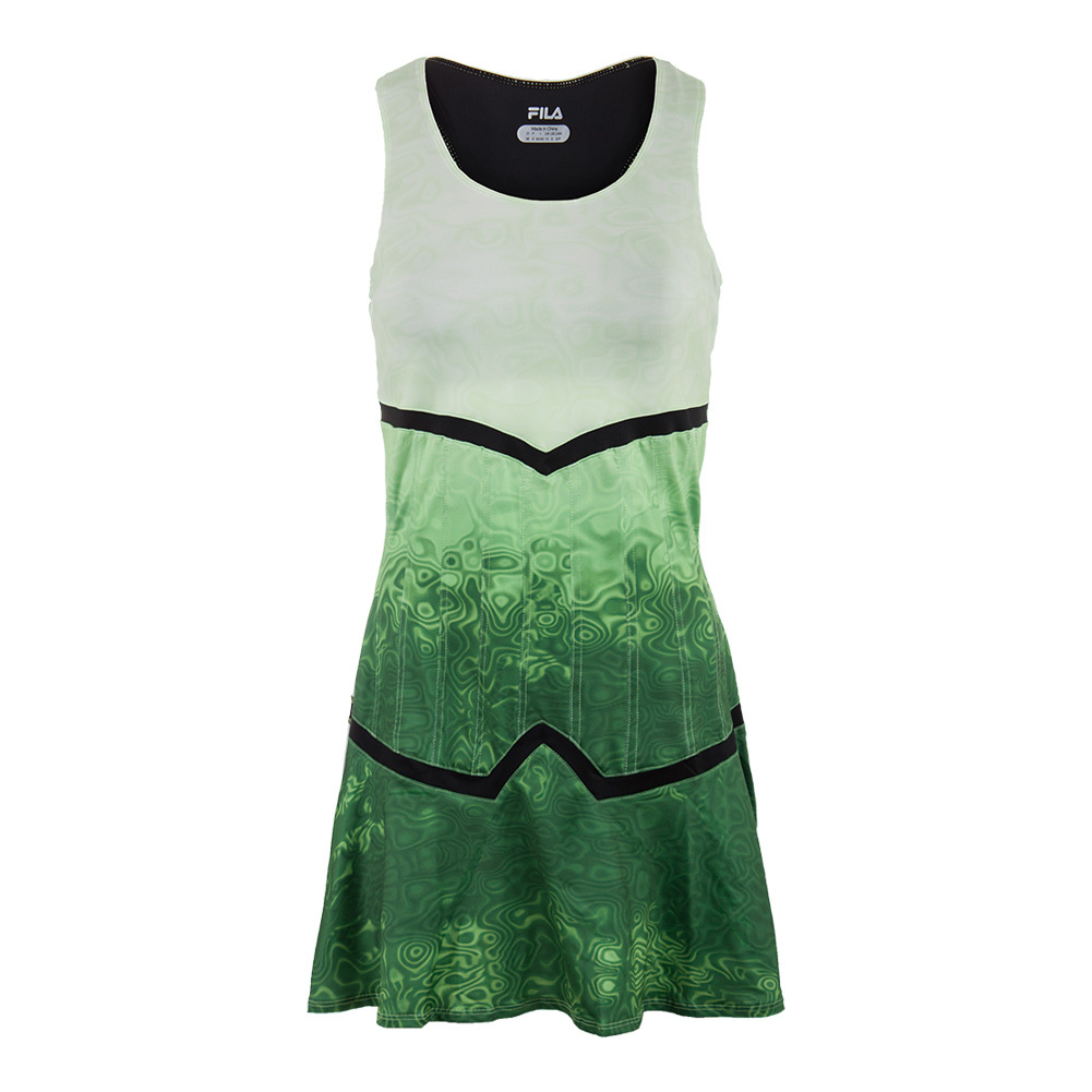 Women's Court Couture Printed Tennis Dress Pistachio