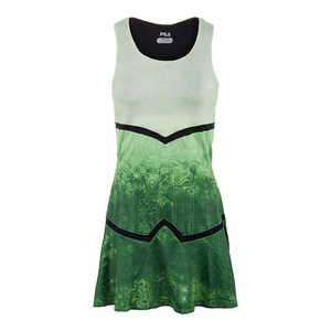 Women`s Court Couture Printed Tennis Dress Pistachio