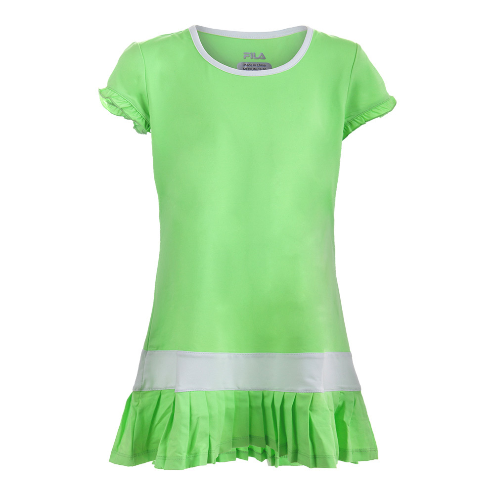 Girls ` Kiddie Couture Tennis Dress Pistachio