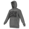 ADIDAS Men`s Adi Stacks Crackle Tennis Hoodie Medium Gray Heather