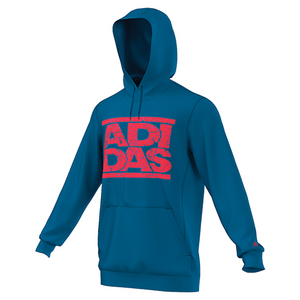Men`s Adi Stacks Crackle Tennis Hoodie Unity Blue