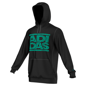 Men`s Adi Stacks Crackle Tennis Hoodie Black