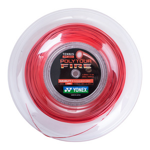 Poly Tour Fire 120/17G Tennis String Reel Red