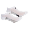 ADIDAS Women`s Superlite No Show Socks 3 Pack White and Gray Size 5-10