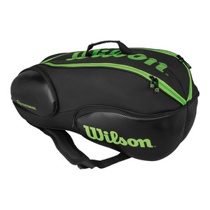 Blade 9 Pack Tennis Bag Black and Green