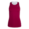 ATHLETIC DNA Women`s Mesh Back Racerback Tennis Tank Sangria