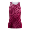 ATHLETIC DNA Women`s Dragonfly Racerback Tennis Tank Sangria