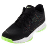 NIKE Men`s Air Zoom Ultra Tennis Shoes Black and Ghost Green