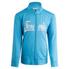 LITTLE MISS TENNIS Girls` Zip Front Tennis Jacket Blue