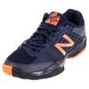 NEW BALANCE Men`s 896 D Width Tennis Shoes Blue and Orange