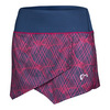 ATHLETIC DNA Girls` Spiralgraph Origami Tennis Skort Sangria