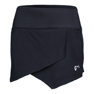 Women`s Origami Tennis Skort Black