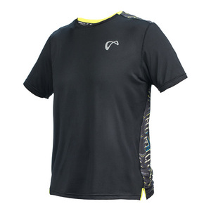 Boys` Exospine Mesh Back Tennis Crew Black