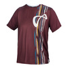 ATHLETIC DNA Boys` Rainforest Mesh Back Tennis Crew Port Royale