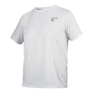 Men`s Brick Camo Short Sleeve Tennis Crew White
