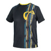 ATHLETIC DNA Men`s Rainforest Mesh Back Tennis Crew Black