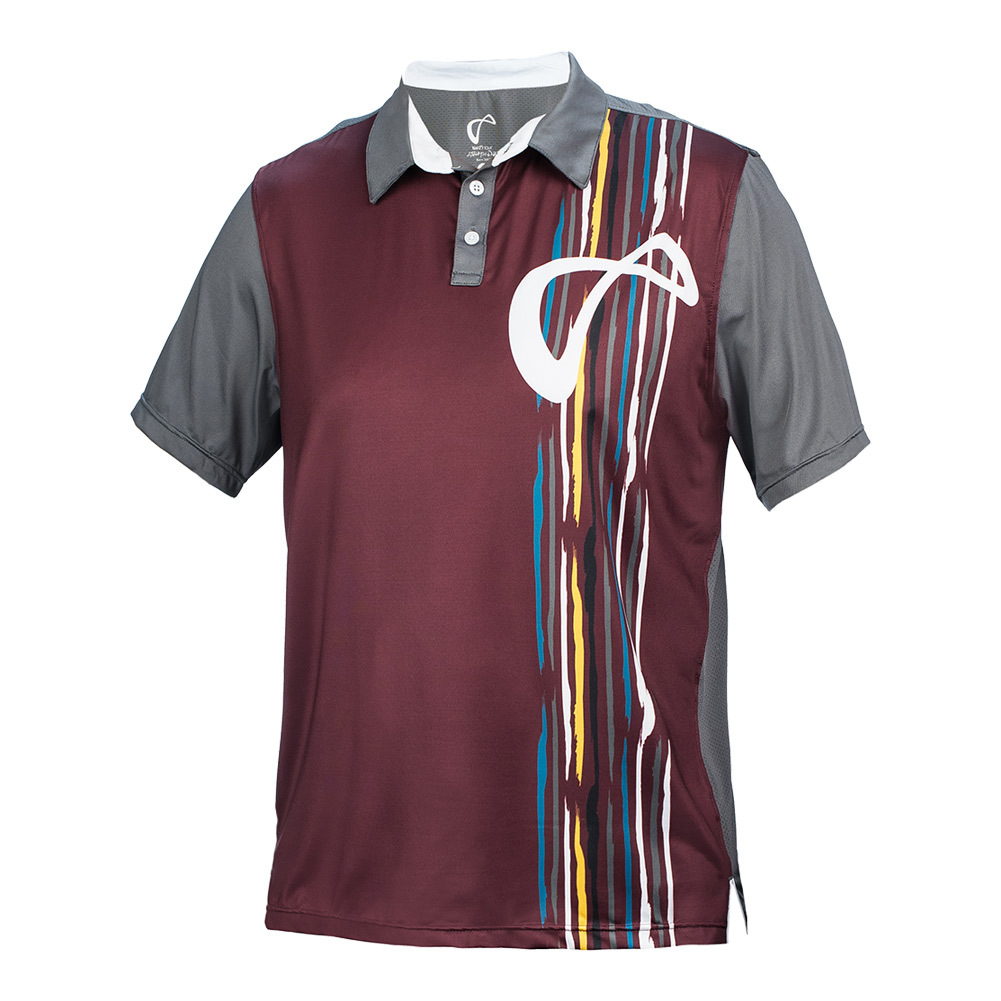 Men's Rainforest Mesh Back Short Sleeve Tennis Polo Port Royale