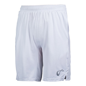 Boys` Mesh Panel Knit Tennis Short White