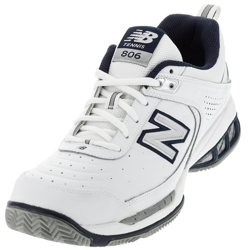 Men's Mc806 4e Width Tennis Shoes White