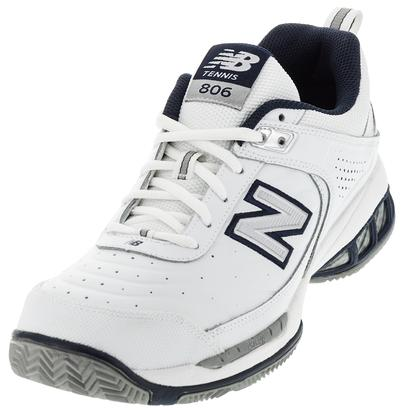 Men`s MC806 4E Width Tennis Shoes White