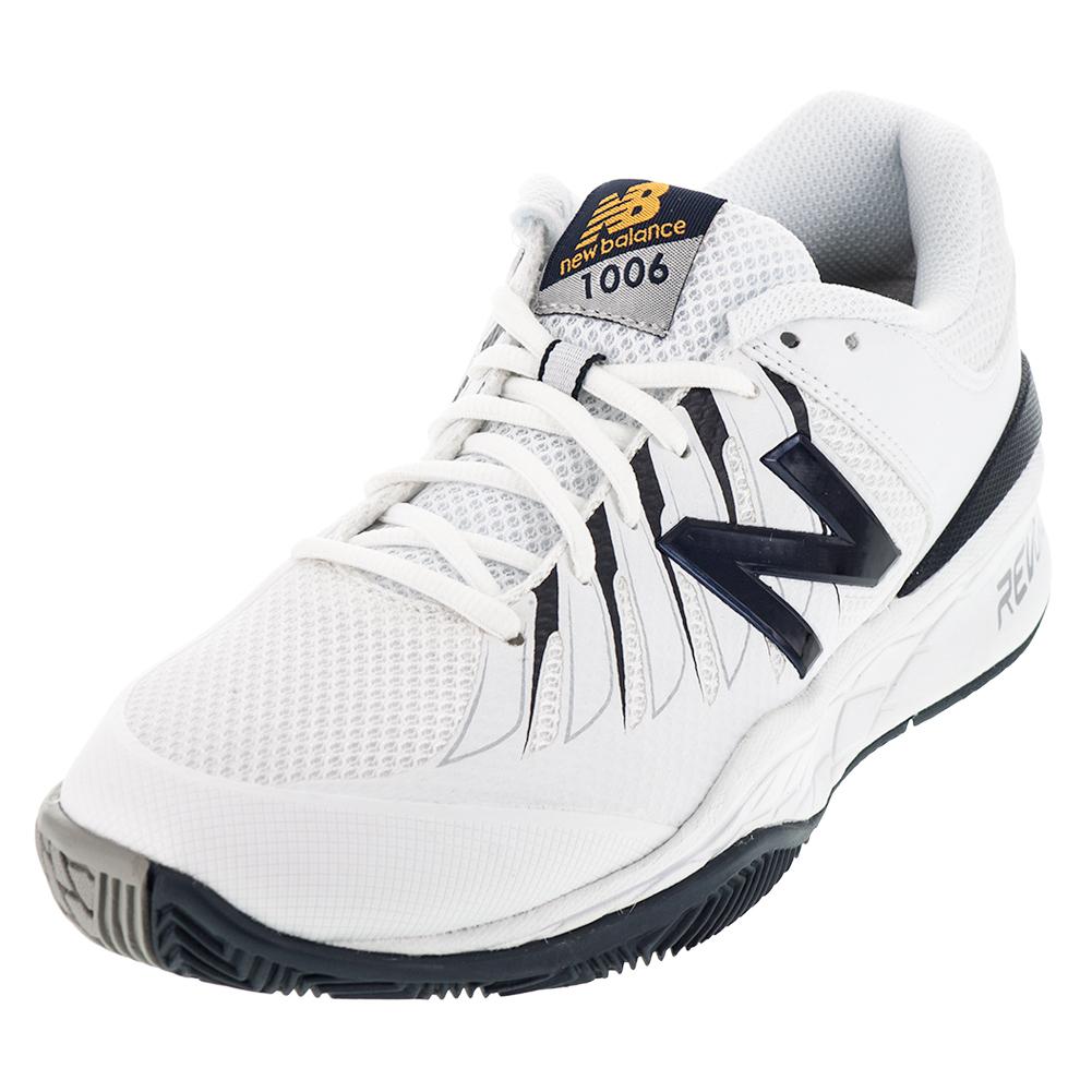 Mens 1006 2e Width Tennis Shoes White