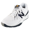 Mens 1006 2E Width Tennis Shoes White by NEW BALANCE