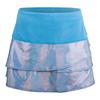 Girls` Tuxedo Scallop Tennis Skort 410_OCEAN