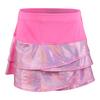Girls` Tuxedo Scallop Tennis Skort 648_PINK