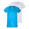 LUCKY IN LOVE Girls` Short Sleeve Tennis Top