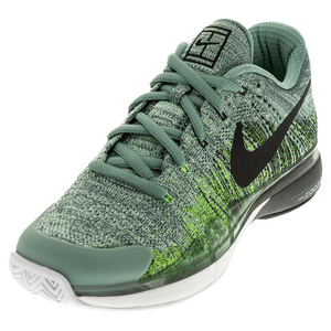 Men`s Zoom Vapor Flyknit Tennis Shoes Cannon and Black